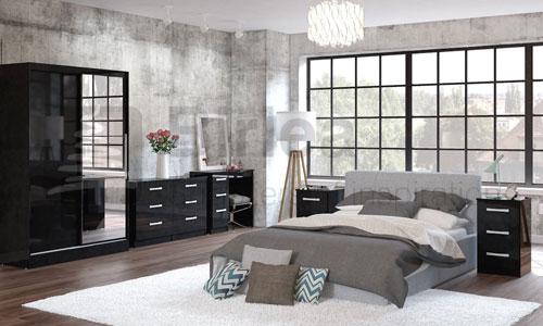 birlea lynx black bedroom furniture for sale ramsdens