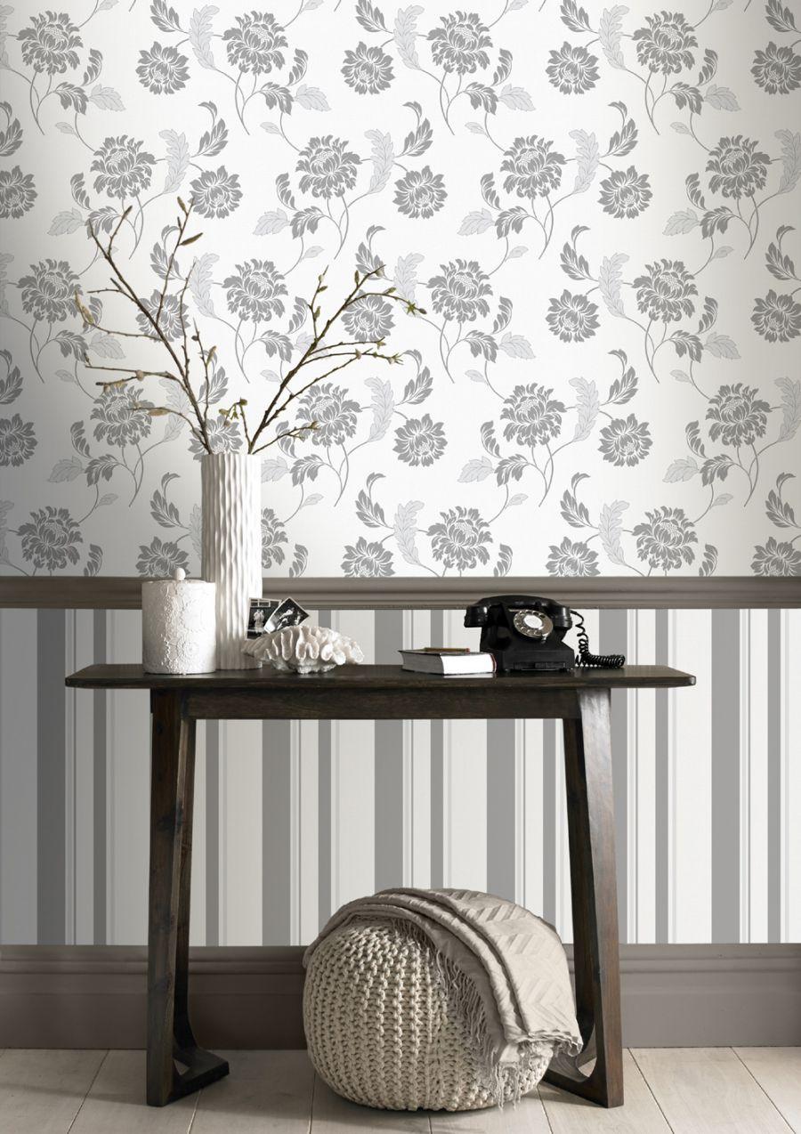 Rasch Sienna Grey White Wallpaper Wallpapers for sale  : 57aa8354e5d3b from ramsdenshomeinteriors.co.uk size 900 x 1274 jpeg 177kB