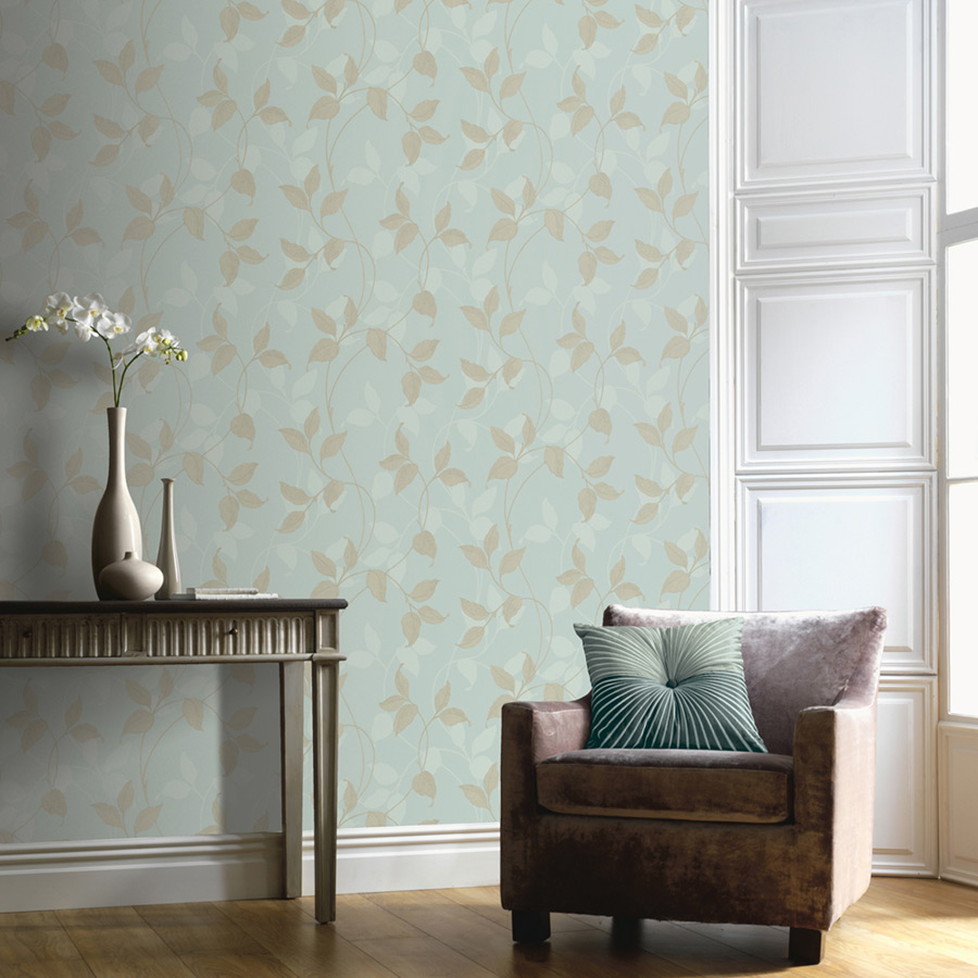 Arthouse Capriata Duck Egg Wallpapers For Sale Ramsdens