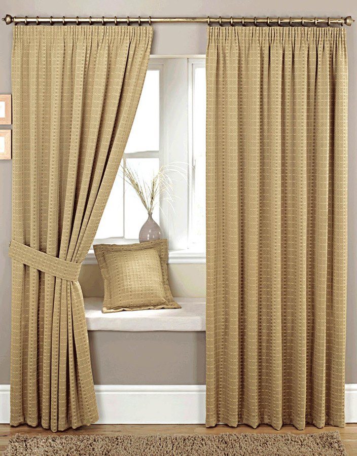 Marlowe Natural Ready Made Curtain Curtains Blinds