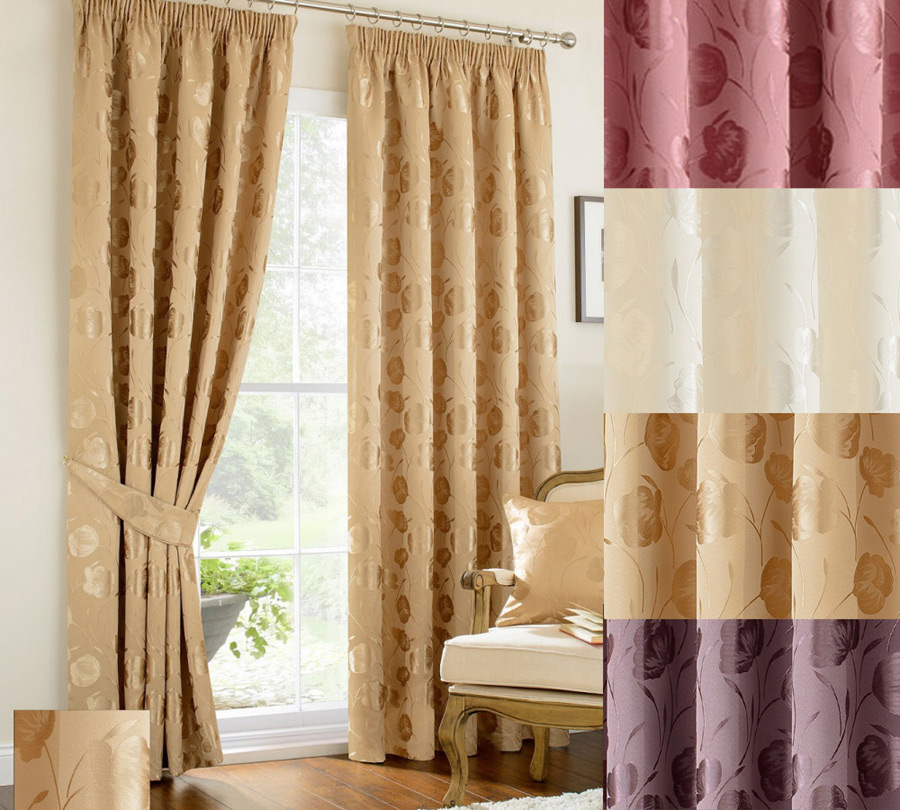 Linby Gold Ready Made Curtains Ready Made Curtains For