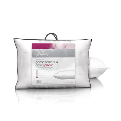 Fogarty Goose Feather Down Pillow Pillows Amp Quilts For
