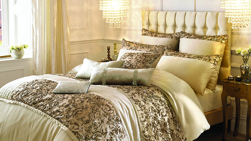 Alexa Gold Bed Linens For Sale Ramsdens Home Interiors