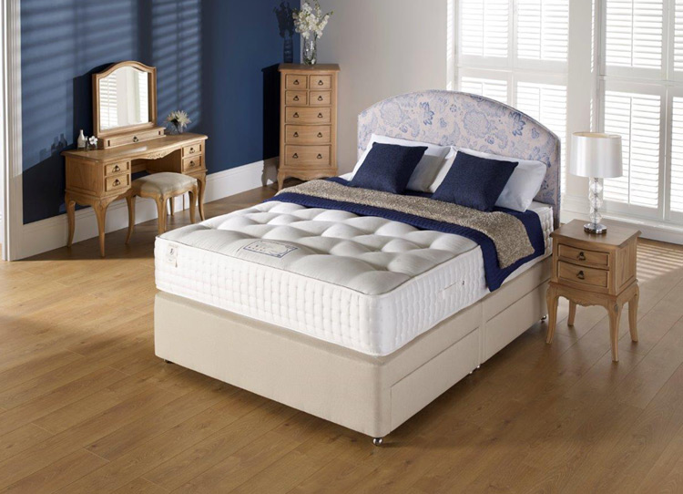Myers ais malmesbury natural 2000 divan beds for sale for Myers divan beds