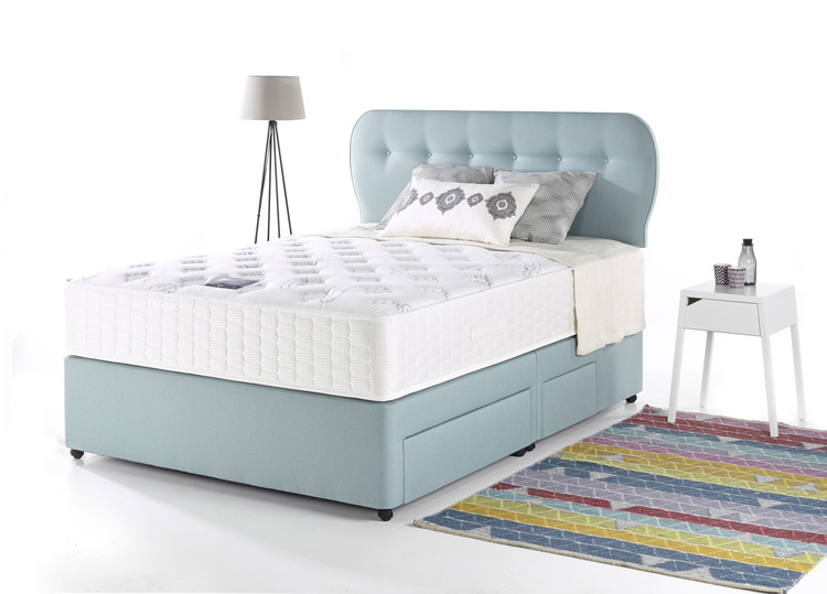 Myers ais my epix snuggly divan beds for sale ramsdens for Myers divan beds
