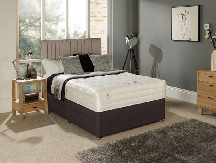 Myers ais broadway 1600 divan beds for sale ramsdens for Myers divan beds