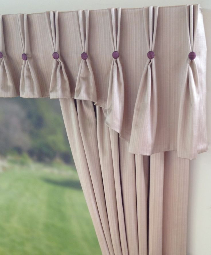 Pinhc Pleat Valance With Buttons Part 67
