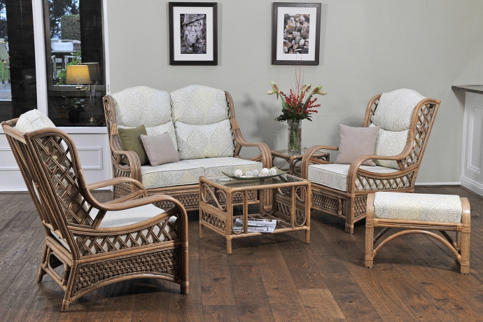 Daro cane quebec section conservatory furniture