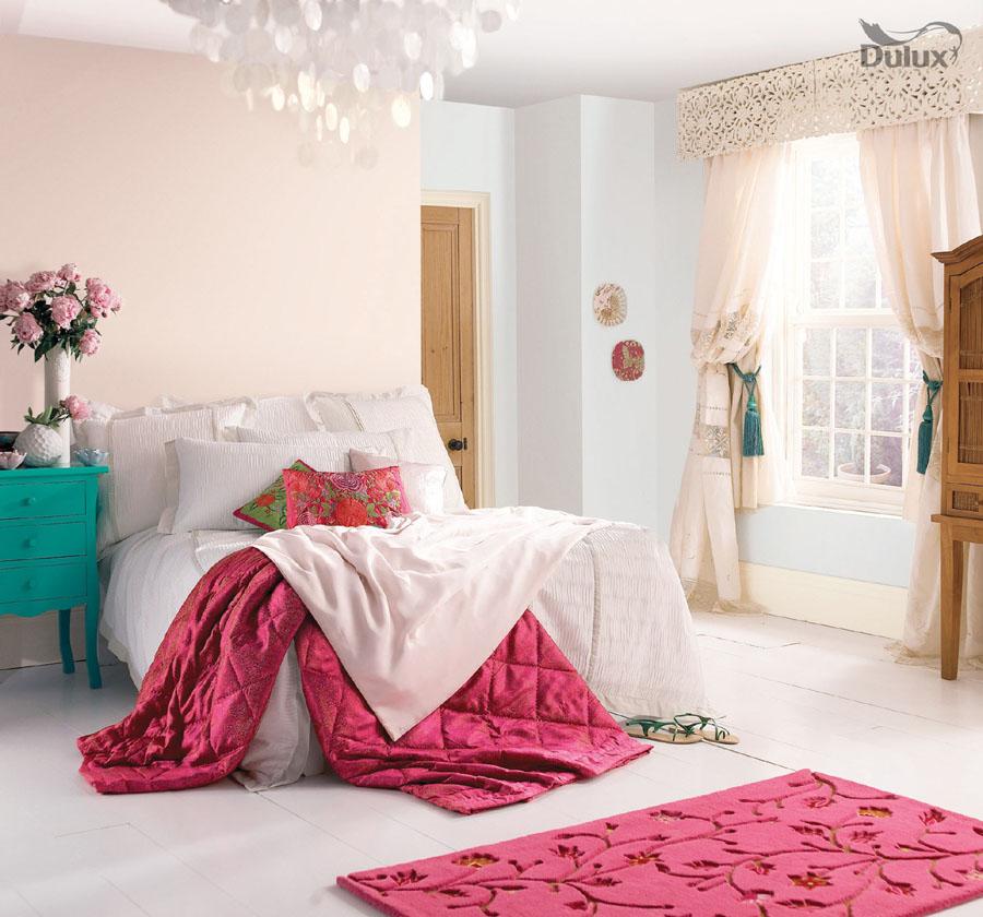 Bedroom Blossom White Dulux Emulsion Colours For Sale