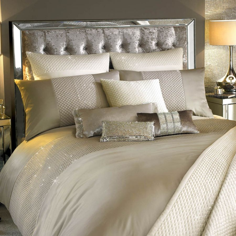Alba Praline Bed Linens For Sale Ramsdens Home Interiors