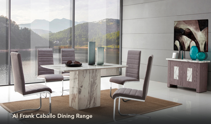 Alfrank Caballo Marble Dining Sets For Sale Ramsdens Home Interiors