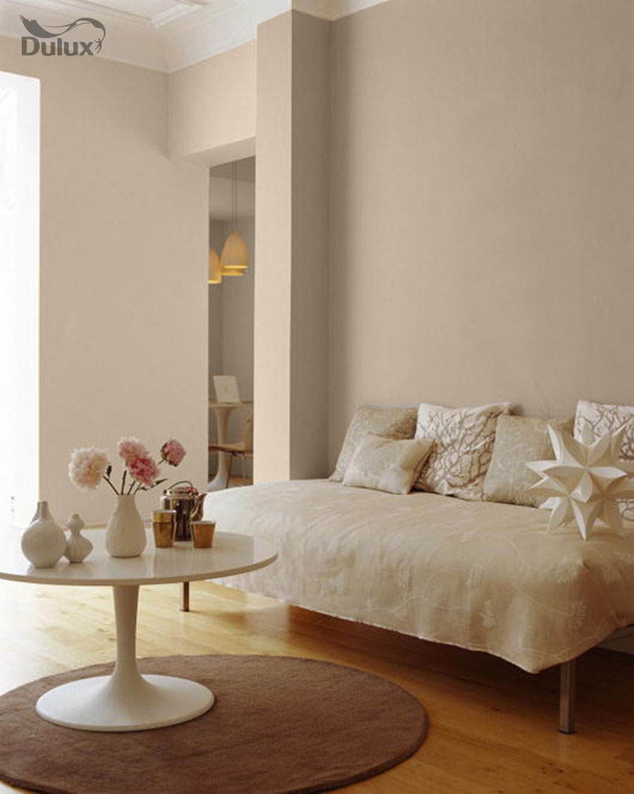 Living room natural hessian dulux emulsion colours for for Living room ideas homebase