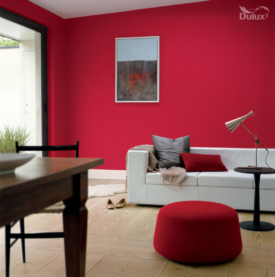 Living Room Roasted Red