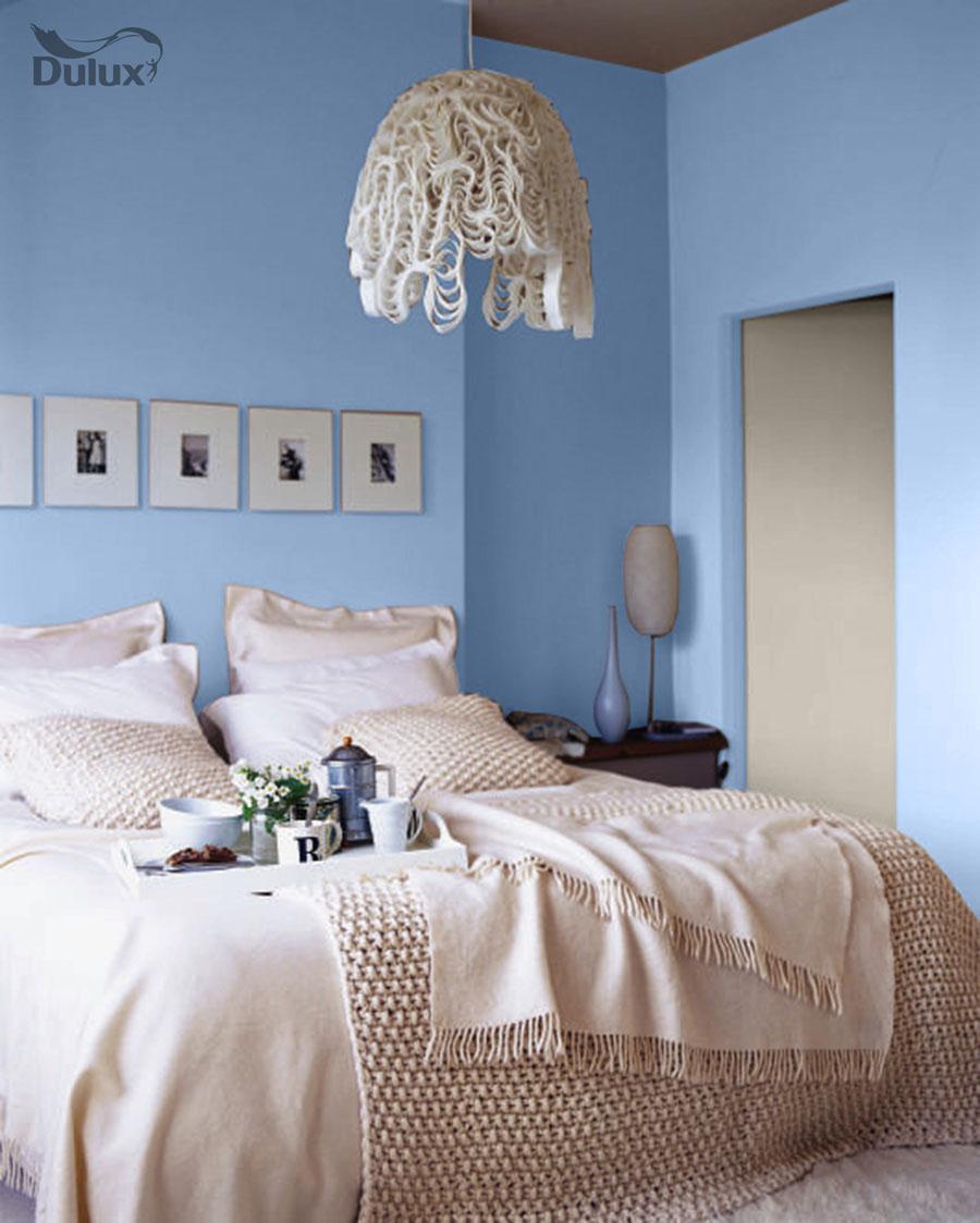 Bedroom Blissful Blue Dulux Emulsion Colours For Ramsdens