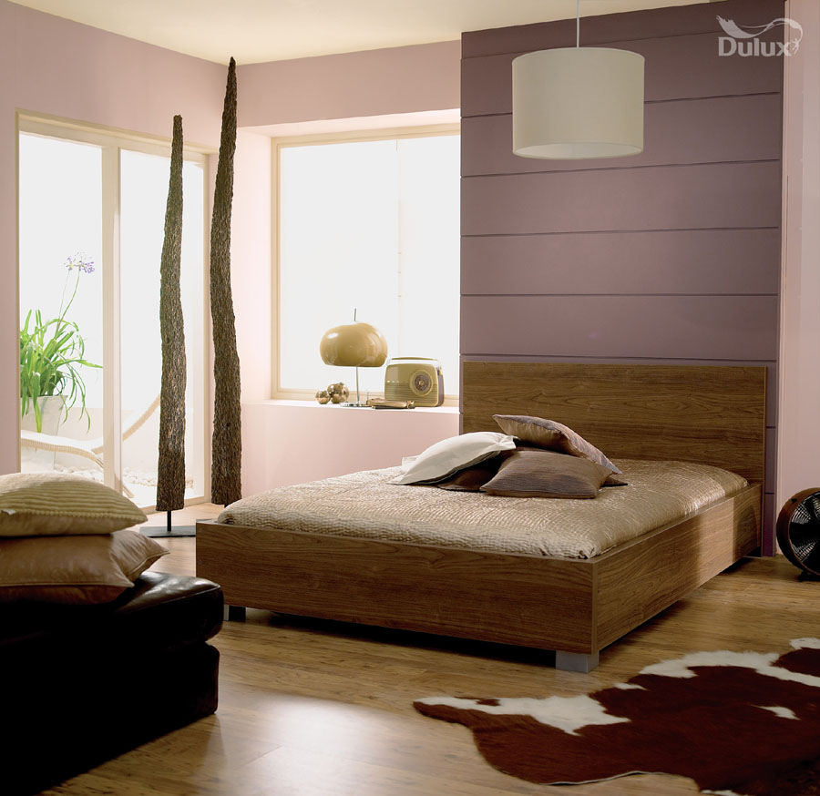 Bedroom Intense Truffle Soft Stone Dulux Emulsion Colours