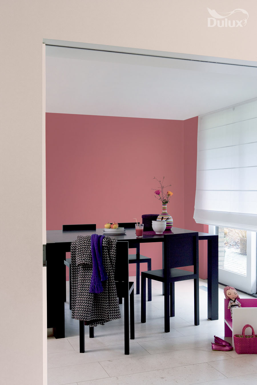 dining room raspberry diva gentle fawn dulux emulsion colours for sale ramsdens home interiors. Black Bedroom Furniture Sets. Home Design Ideas