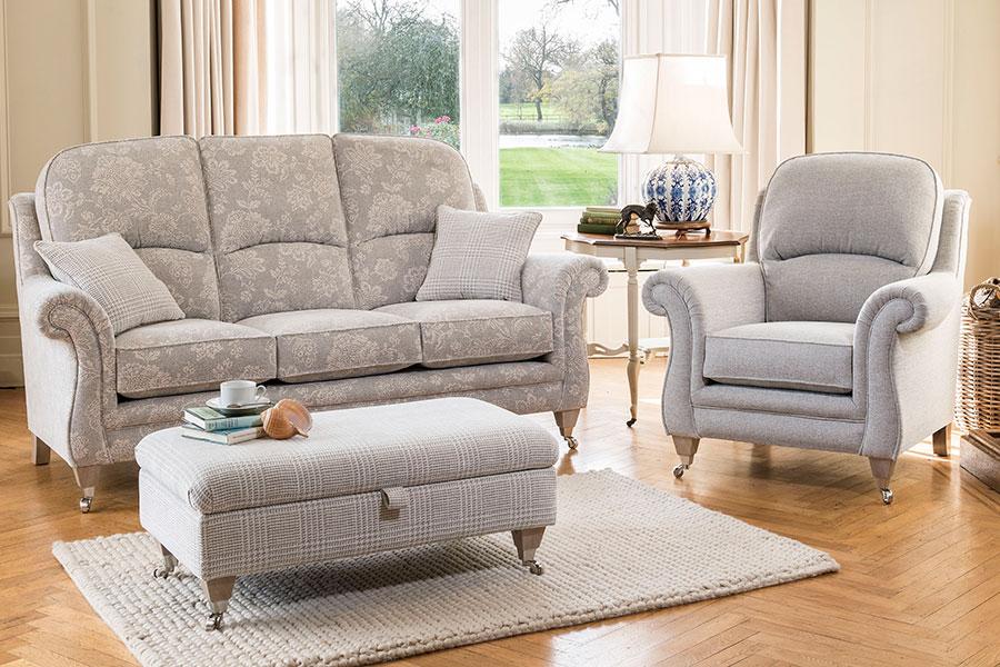 Alstons Burnham Fabric Sofas For Sale Ramsdens Home
