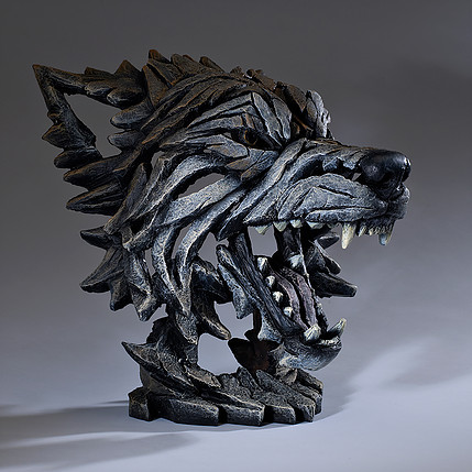 Edge Wolf Bust Edb04 Gifts For Sale Ramsdens Home Interiors